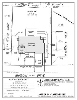 12 Whitman Drive, Chatham NJ: $2,350,000