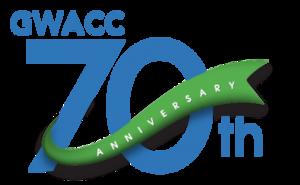 Carousel image 8d5c48f07b0c96b23b6e gwacc 70th anniversary logo