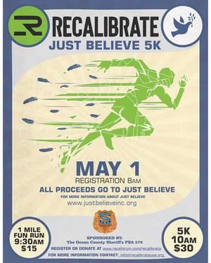 Recalibrate, Just Believe, Inc.