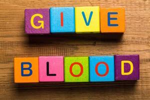 Giving / Volunteer Give Blood