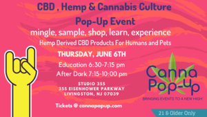 Cannabis Culture Pop-Up Exploring the Power of CBD