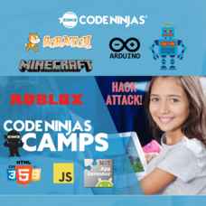 Camps all Summer @ Code Ninjas