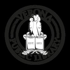 Verona Library - Logo 2018 - ROUND - B&W.png