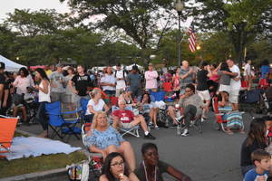 Franklin Township: Fireworks Display at Independence