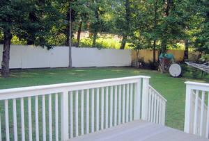 Porch & Backyard