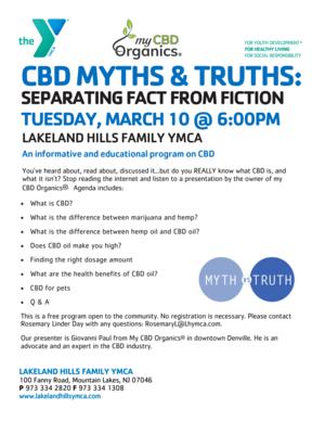 CBD Myths vs Facts 3.10.20