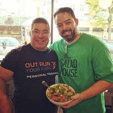 Chaz Eicke, The Salad House and Tony Bianchino of Out Run Your Fork.jpg