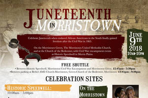 Carousel image a77ff4703cc2bb890bbe 38c6563cb5fa5fddb6d3 juneteenth in morristown flyer poster