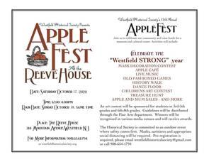 Applefest 2020 flyer