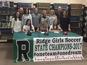 Carousel image abdfe75deb07be6f675c ridge girls soccer 2018 signing day