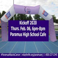 Kickoff 2020: Relay For Life of Paramus!