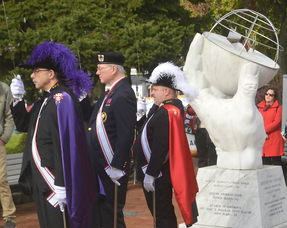 Columbus Day celebration in Scotch Plains