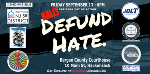 Rally to DefundHATE