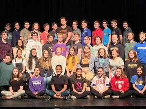 Cast of Guys and Dolls