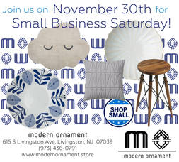 Modern Ornament Small Business Saturday 2019