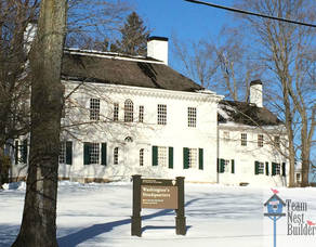 WM Morris Township Revolutionary History National Historical Park Washington's HQ Morris Township Post.jpg