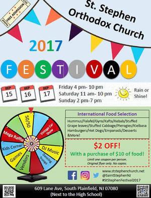 St Stephen Festival 2017