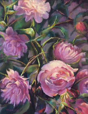 Pretty in Pink - Karen Tighe pastel.jpg