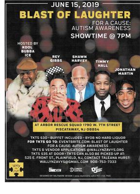 Comedy Show Fundraiser to promote Autism Awareness.