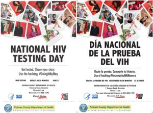 2019 HIV Testing Day