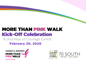 MORE THAN PINK WALK KICK-OFF