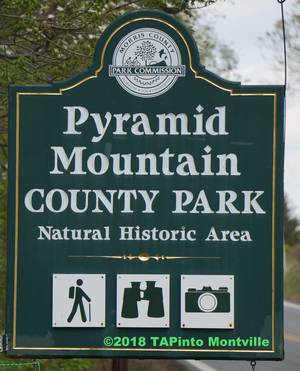 Pyramid Mountain sign May 2018 paint - Copy  ©2018 TAPinto Montville    1..jpg