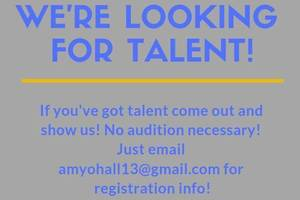 Talent Showcase May 18th