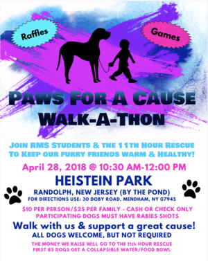Carousel image d51c13c24cf9cd35acc6 paws for a cause walk a thon  flyer