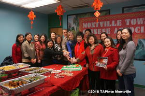 Carousel image d6c1713b72d8801837cb a principal doug sanford  superintendent ren  rovtar  chair margaret lam and members of the montville township chinese association at the luncheon  2018 tapinto montville