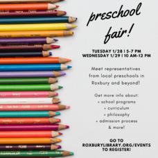 Preschool Fair 2020