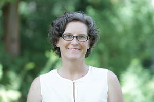 Kathleen Salisbury, director of Temple University's Ambler Arboretum