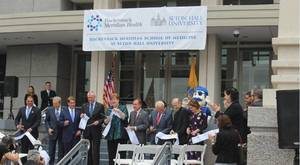 Carousel image db655f3bf104e6ed338f seton hall ribbon cutting may 2018 a