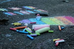 Nutley Pride, Nutley NJ, Chalk It Up To Love, Pride Month, Nutley LGBTQ