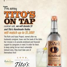 Tito's sponsor