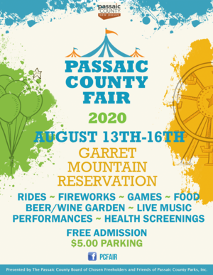 Flyer, Passaic County Fair, August 2020.png