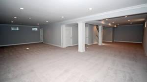 1200 sq. ft. finished basement