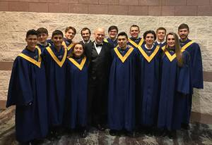 Carousel image e57db171d227dde70674 roxbury choir director and students honored at all state choir