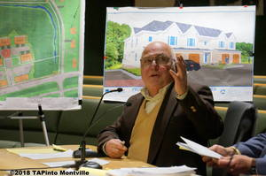 Carousel image e5b1fb984c9979a55850 a architect and professional planner frank mileto  with townhouse designs behind him  2018 tapinto montville