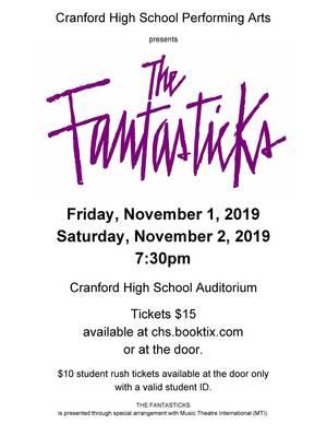 The Fantasticks at Cranford High School