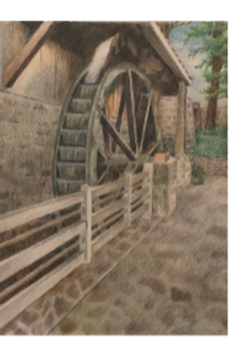 Doug Schiller_Water Wheel at Peddler's Village.png
