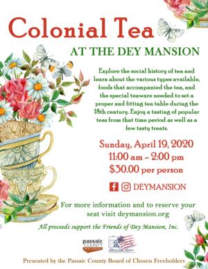 Flyer, Colonial Tea, 2020.png