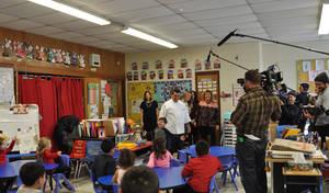Cake Boss visit to Montville's William Mason Elementary