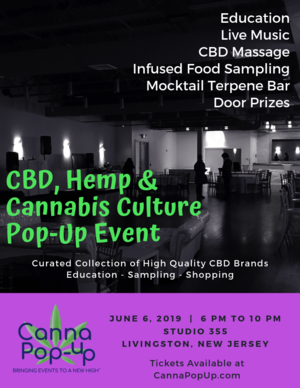 CBD, Hemp & Cannabis Culture Event Livingston.