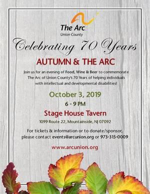Celebrating 70 Years: Autumn & The Arc