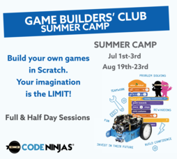 Game Builder's Club @ Code Ninjas