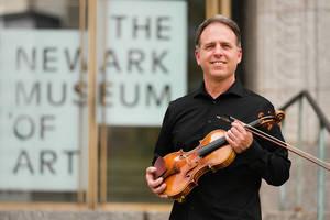 NJSO Concertmaster Eric Wyrick