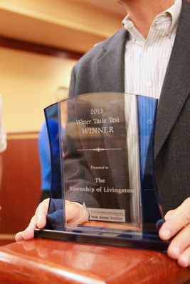 Livingston Awarded Best Tasting Water in New Jersey, photo 2