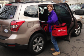 Linda Delma of Summit Get Ready to Deliver Meals