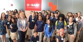 Paterson School #18 Students visit BASF