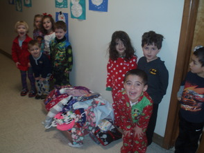 Mrs. Ripp's 3 year old class
